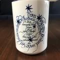Australian Pledge Coffee Mug! Calligraphy for the Masses! Cheers Australia.