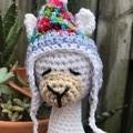 Crochet Llama, Amigurumi,Softie