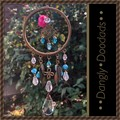 Leafy Antique Brass Suncatchers (2 available)