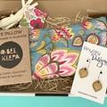 Earring and Eye Pillow Gift Set