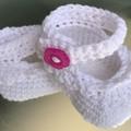 Crochet Baby Booties Newborn, Premi.