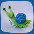 Shelley the Snail Crochet Toy