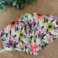 Face Covering Medium-  Multi coloured  floral