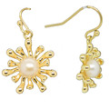 Anemone Pearl 14k Gold filled Earrings