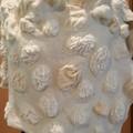 Cream  felted merino wrap