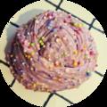 Boo Berry Cupcake
