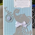 baby boy Card - baby shower card