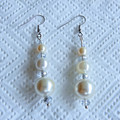 Pearl & Crystal Drop Earrings