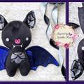 Personalised Bat Plushie