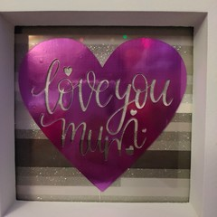 Love you Mum Picture frame