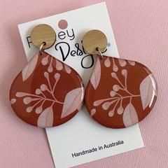 Australian Flora Statement Earrings