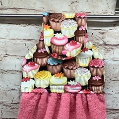 Cupcakes Hanging Hand Towel