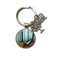 Dark Forest keyring, add your charms