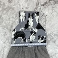 Border collie dogs Hanging Hand Towel