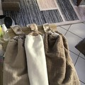 3 double thickness crochet top towels
