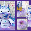 Personalised Jointed Unicorn Plushie