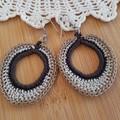 Crochet 3 tone Earrings