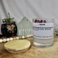 Rose Bud Soy wax candle | Candle | Hand poured candle