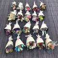 20 Mixed mini dried flowers bouquets  - Wedding, baby shower, wrapping