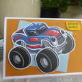 BIRTHDAY CARD - YOUNG BOY  (FREE POSTAGE)