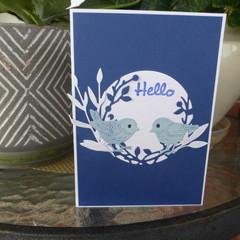 HELLO CARD - (FREE POSTAGE)