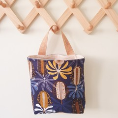 Storage solution, hanging fabric basket, Australian native plant,mothers day