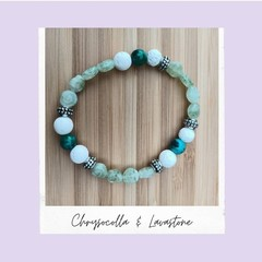 Cats Eye-Gemstone Stretch Bracelet