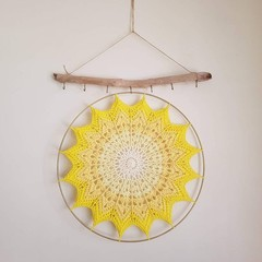 Ray of Sunshine Crochet Mandala