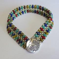 'Raku' Cobblestone Bracelet