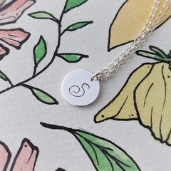 Monogram Necklace, Personalised Initial Jewellery