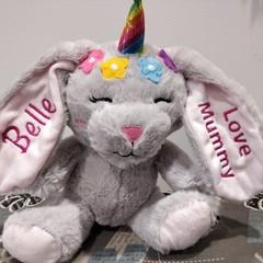 Custom Embroidered Bunnies - FREE POSTAGE