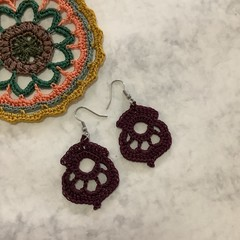 Inspired Crochet Earrings