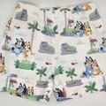 Bluey Shorts -  PALM TREES