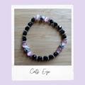 Cats Eye-Gemstone Stretch Bracelet