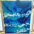 Ocean Waves 50cm x 40cm (20x16in)