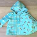 Upcycled Woollen Blanket Duffle Coat
