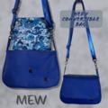 Hedy Convertible Clutch - Blue