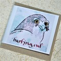 Owl Cards set of 5