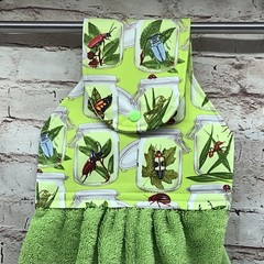 Bugs in jars Hanging Hand Towel
