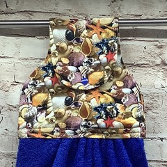 Seashells Hanging Hand Towel