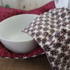 Bowl Cosies- Purple Floral