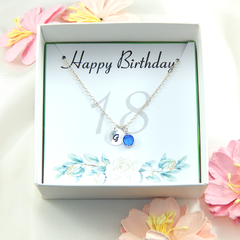 Persona1ized 18th Birthday Gift Necklace
