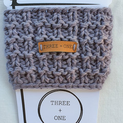 100% COTTON CUP SLEEVE - Grey Wisp