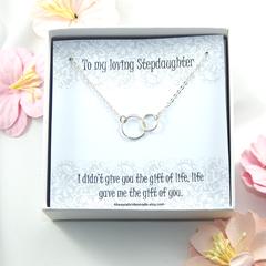 Step Daughter Gift,Gift For Stepdaughter,Bonus Daughter Gift