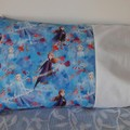 COTTON  PILLOWCASE/INNER FLAP/FITS TODDLER PILLOW/35CM X 50CM