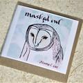Australian Owl Card set of 5