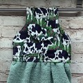 Cows  Hanging Hand Towel