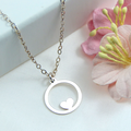 Mother Necklace,Gift From Daughter To Mother, Mother of the Bride Necklace