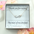 Mother Of The Groom Necklace Gift,Gift from Bride to the Grooms Mother