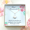 Great Grandma Gift,Great Grandma Necklace,New Great Grandma Gift